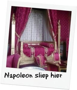 vlakbij de ardennen vind je slaapkamer van Napoleon in Compiegne