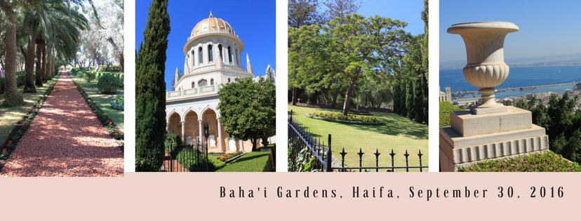 Cruise boeken naar israel bahai-gardens-haifa-september-30