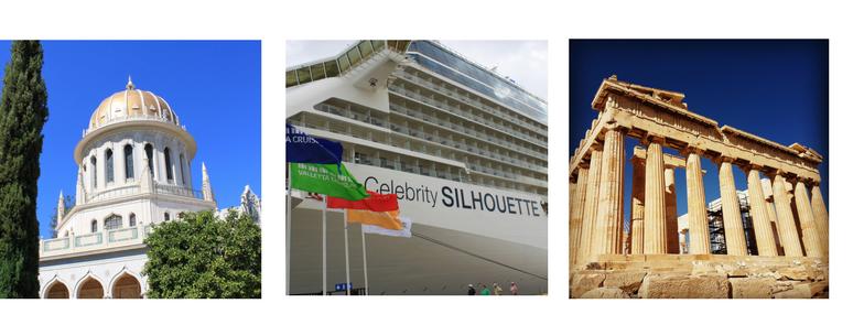 Cruise boeken met Celebrity to Israel. Fun times