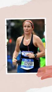 Meisjes van vijftig houden van rennen Karin Muller